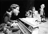 Mozart toca para los pequeños
