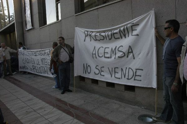 Concentración de Acemsa en Ceuta