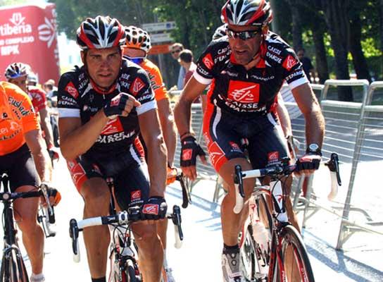Óscar Pereiro, en la Vuelta 2007.