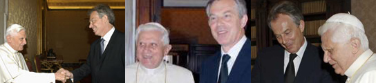 Tony Blair & El Papa