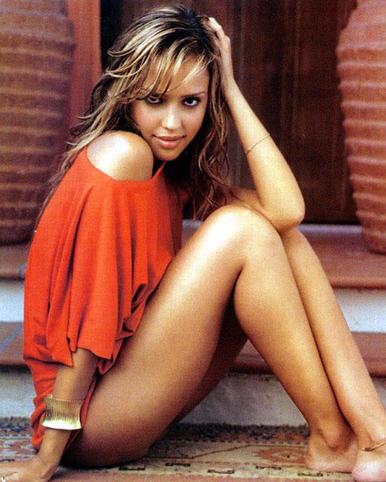 La actriz Jessica Alba.