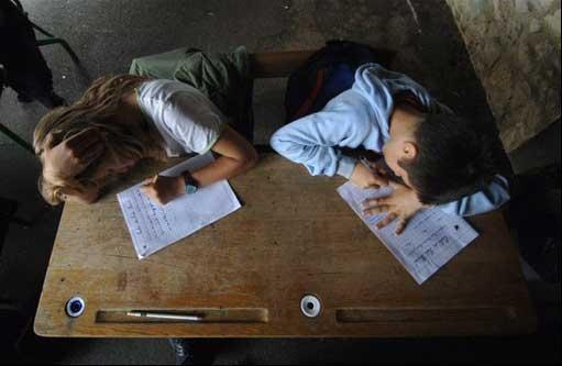 Escolares carta