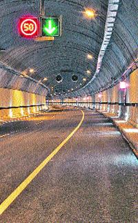 El mejor túnel de Europa