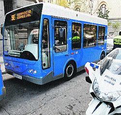 Minibuses para cubrir nuevas líneas en la zona centro