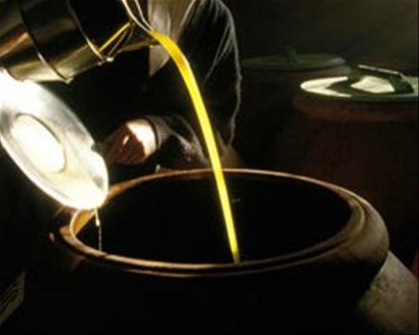 El aceite es la base de sus platos