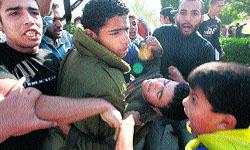 Seis muertos y cientos de heridos en un acto de homenaje a Yaser Arafat