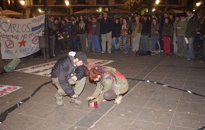 Protesta antifascista