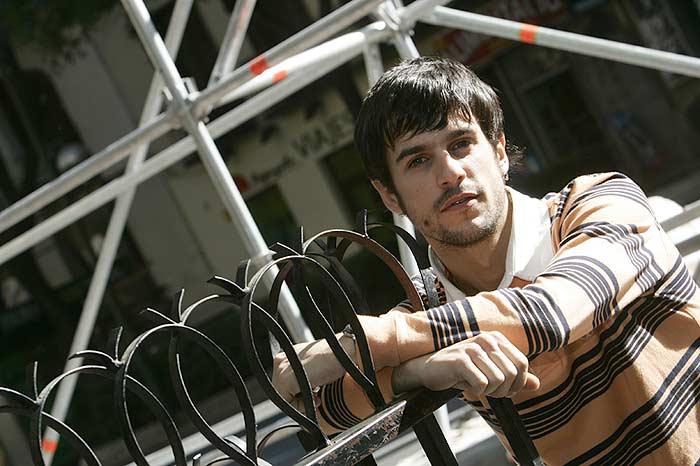 El actor Alejo Sauras, protagonista de 'La habitación de Fermat'.