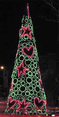 Amaya Arzuaga y Ángel Schlesser decoran Madrid por Navidad