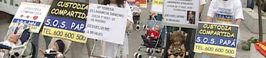 Manifestación custodia compartida