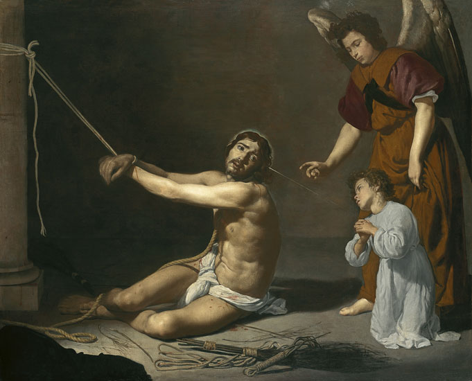 Cristo y el alma cristiana. Cristo y el alma cristiana  Óleo sobre lienzo, 165.1 x 206.4 cm  Londres, National Gallery Esta obra forma parte de la exposición