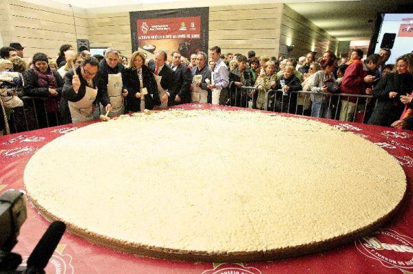 Las tortas de turrón más grandes