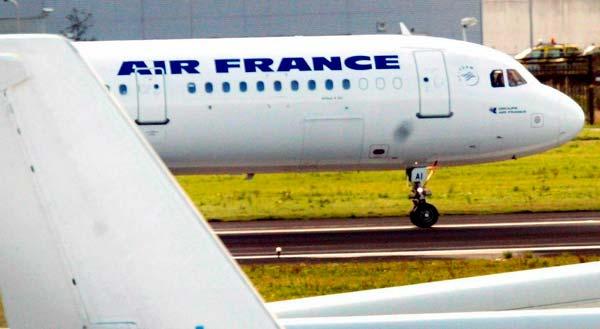 Un avión de Air France