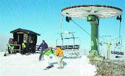La temporada de esquí se abrió en Teruel