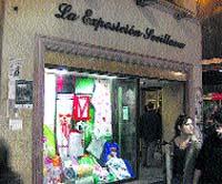 Roban en La Exposición Sevillana con un butrón