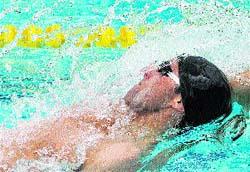 Uno de los mejores nadadores de espalda