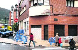 15 días de cascotes en de Oviedo