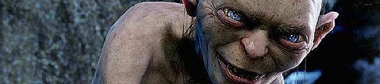 El 'Gollum', personaje de la trilogía de 'El Señor de los Anillos'.