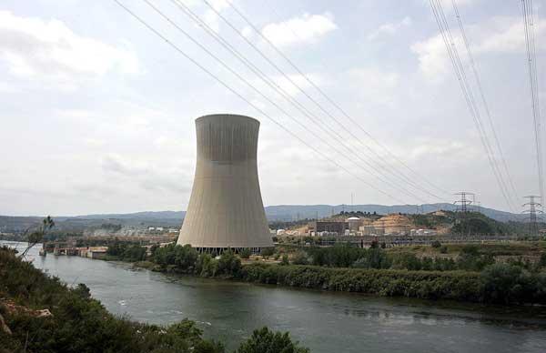 Central nuclear de Ascó, en España