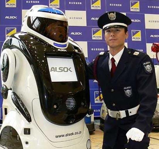 El robot que reconoce las caras de los delincuentes