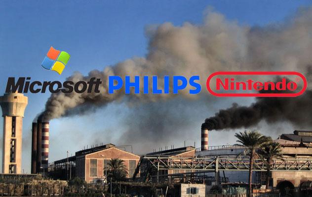 Microsoft, Philips y Nintendo