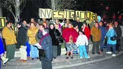 Protestan contra las antenas de telefonía móvil