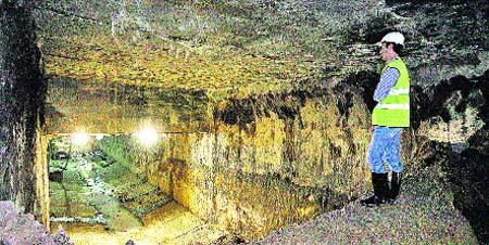 El primer tramo del Metro está ya excavado