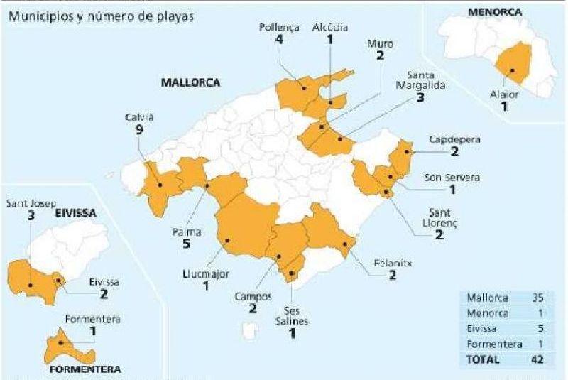 El govern incluye 42 playas en la categor a de alto riesgo - Baleares y canarias ...