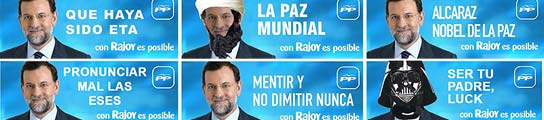 Contracampaña a Rajoy