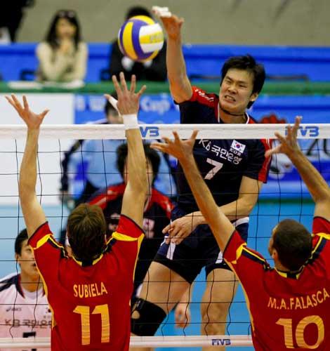 España de Voleibol ante Corea del Sur