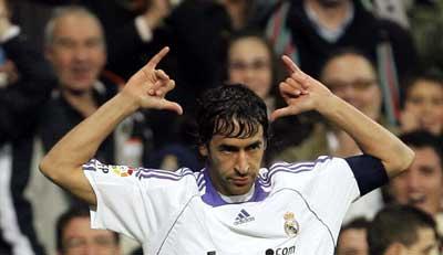 Raúl del Real Madrid