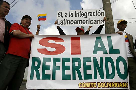 """El """"sí"""" de venezuela"""
