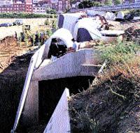 Desmantellen una obra olímpica perquè passi la L5 del metro per sota