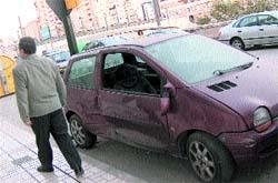 Un coche residual