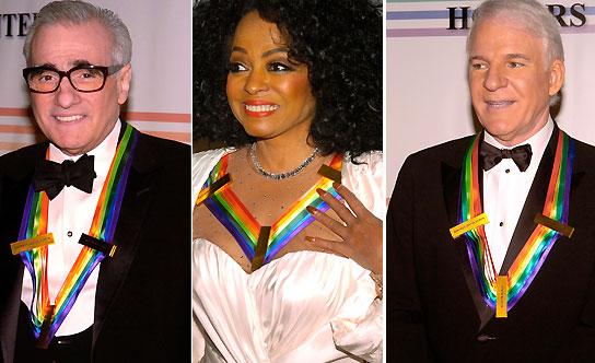 Scorsese, Diana Ross y Steve Martin