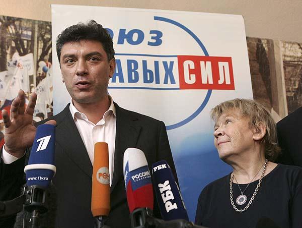Opositores en Rusia