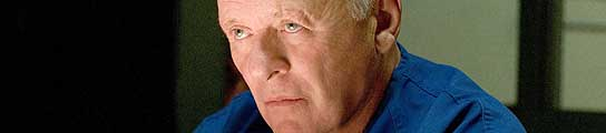 El actor británico Anthony Hopkins.