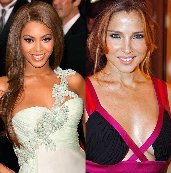 Beyoncé y Elsa Pataky