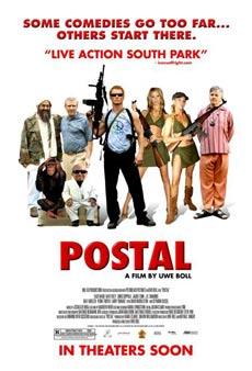 Cartel de 'Postal'.