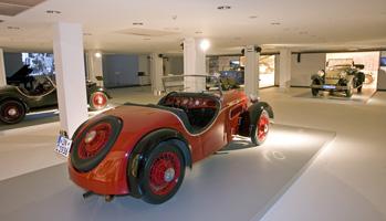 Exposición 75 aniversario de Auto Unión