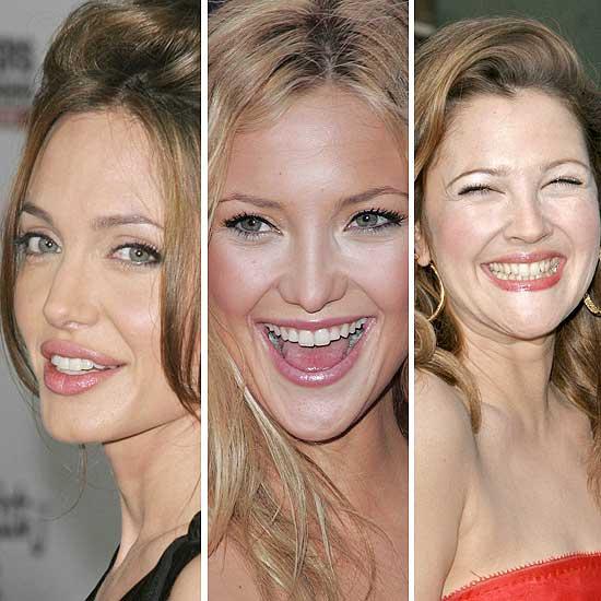 Angelina Jolie, Kate Hudson y Drew Barrymore Angelina Jolie Children