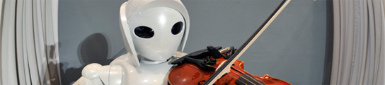 El robot de Toyota toca el violín