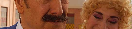 'El Súper' y 'Ofelia' en este fotograma de 'Mortadelo y Filemón, Misión: Salvar la Tierra'.