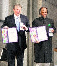 Al Gore, Nobel de la Paz