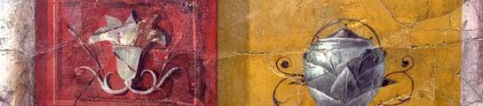 Detalle de una pintura de la casa de Augusto. (EFE)