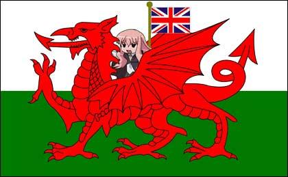 Bandera británica manga.