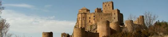 El yacimiento se encuentra cerca del castillo de loarre. (foto: wikipedia).