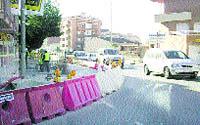 Tall de trànsit a Rubí per obres