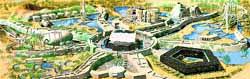 Monegros se transformará con 5 parques, 32 casinos y 70 hoteles