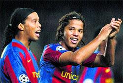 El Barça vuelve a sonreír